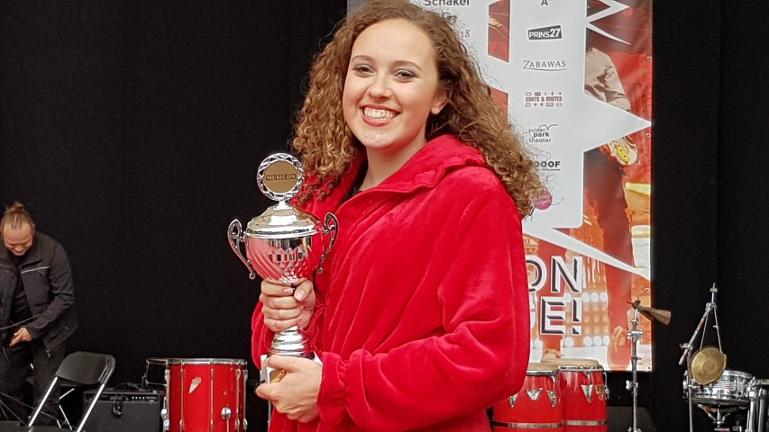 Shauni Kuiper wint Your Stage Festival