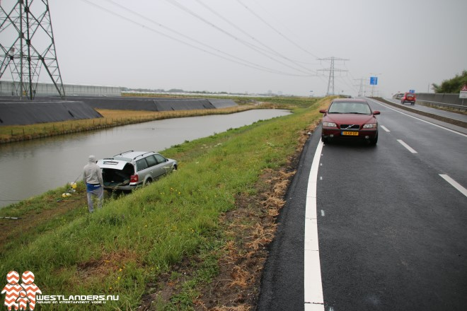 Toch geen auto te water