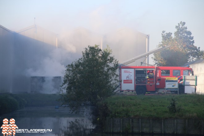 Flinke brand in transformatorhuisje
