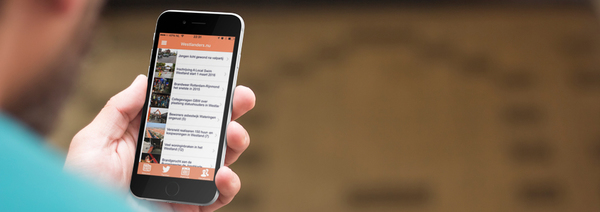 Westlanders.nu apps pass the 20,000 users
