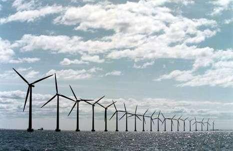 Transmissiesysteem windmolenpark op zee dwars door het Westland