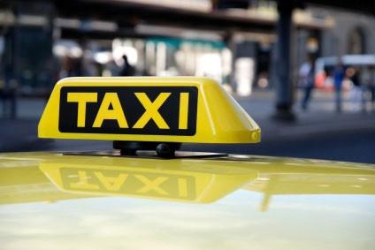 Taxichauffeur de weg kwijt