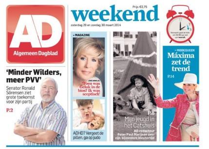 Geen Algemeen Dagblad door staking