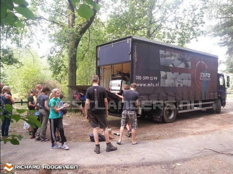 Vrachtwagen gestolen in Maassluis