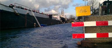 Hoogwateralarmering van kracht in Maassluis