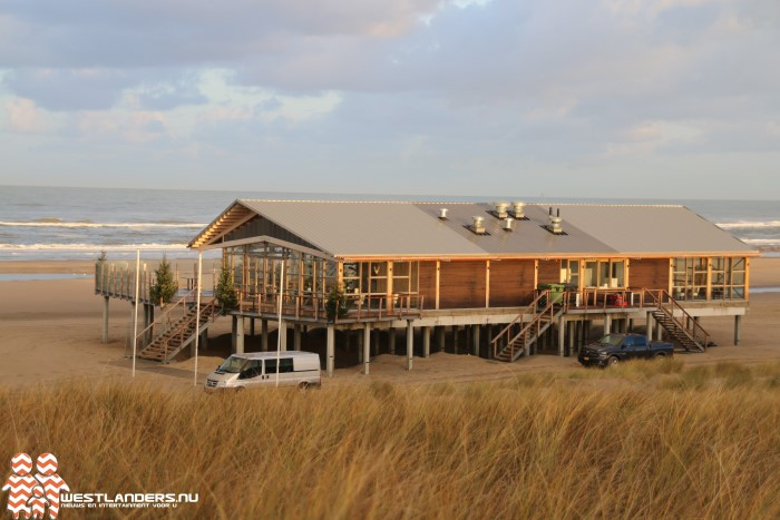 Collegevragen rondom bevoorrading strandpaviljoen The Coast