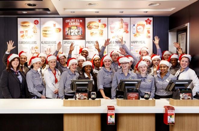 Donatiecampagne bij McDonald's voor het Ronald McDonald Kinderfonds
