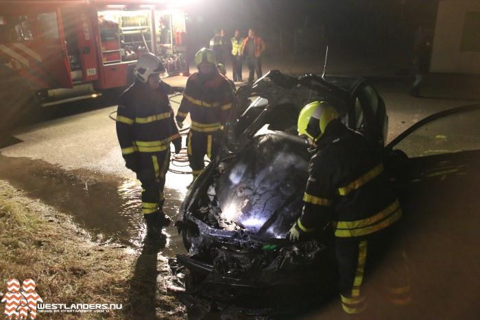 Drie autobranden in het Westland