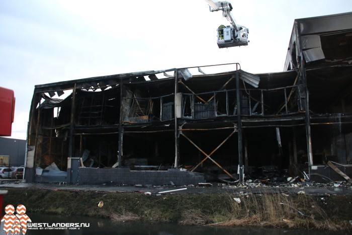 Grip 1 brand Naaldwijk; de dag erna