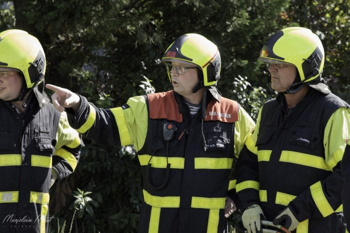 Ploegchef Gerard de Jong afgezwaaid bij brandweer Honselersdijk