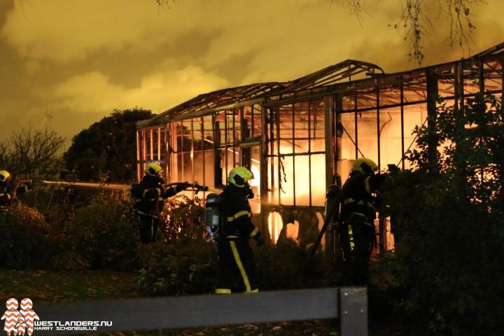 Hobbykas afgebrand aan de Oudecampsweg