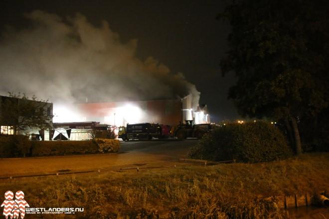 Grote brand bij Van Vliet Contrans