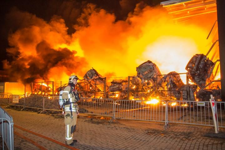 Grip 2 Brand aan de James Wattweg