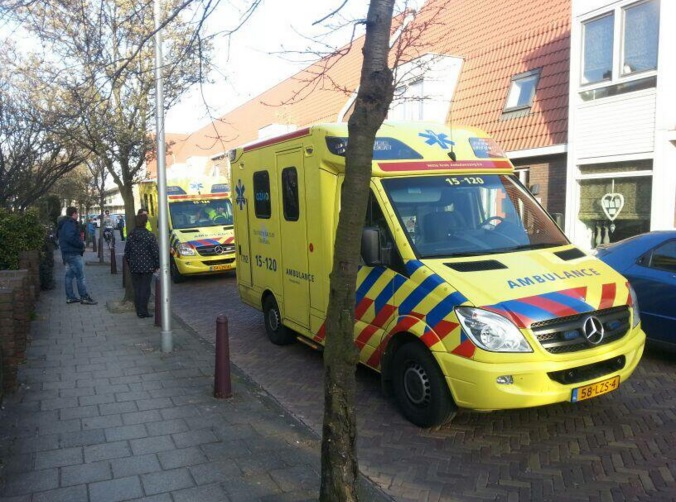 Ambulanceverhalen; Leg hem daar maar neer