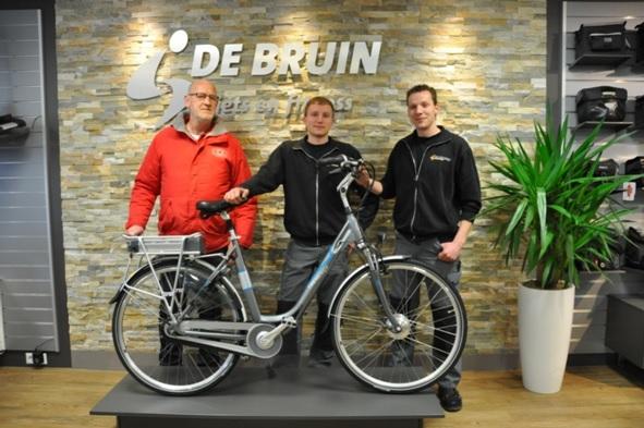 Buurtpreventie Honselersdijk op de elektrische fiets