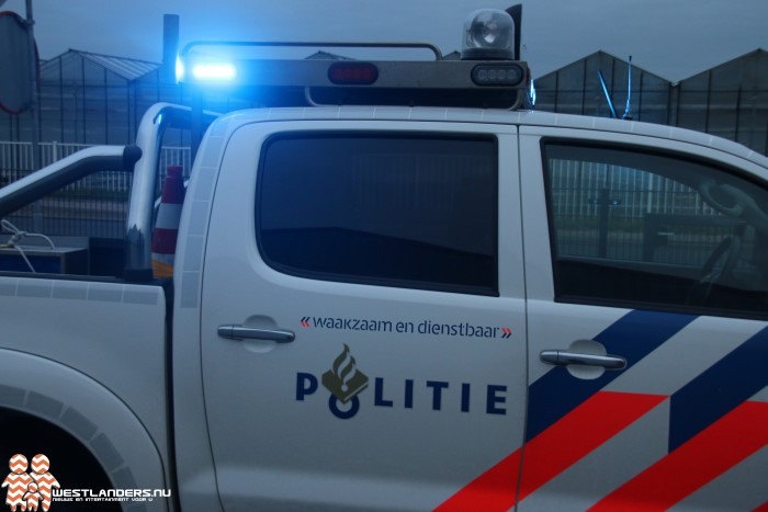 Kleine criminaliteit afgelopen week in het Westland
