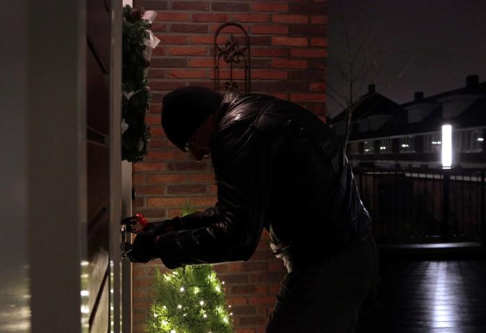 Veel woninginbraken tijdens de kerst