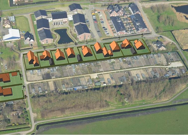 Mogelijk woningbouw aan zuidrand van Schipluiden