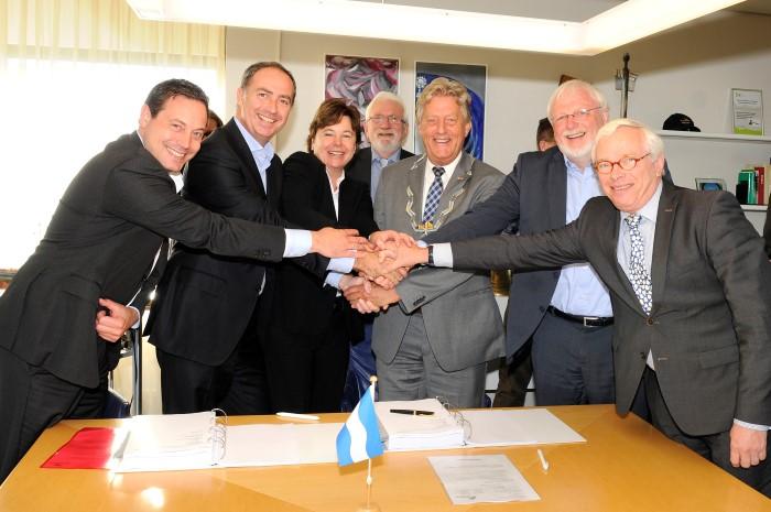 Anterieure overeenkomst ondertekent voor vernieuwing Koningshoek