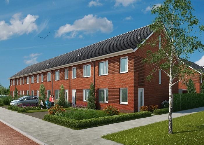 Start verkoop 36 woningen Hoogezande Naaldwijk