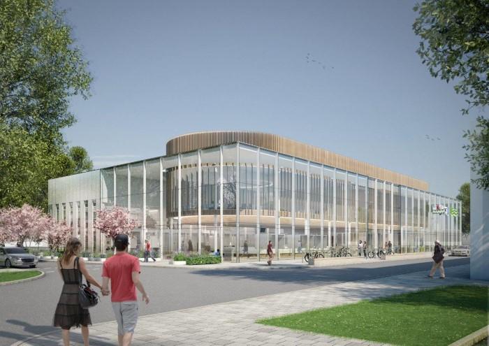 Eerste paal nieuwe gemeentehuis 18 mei in de grond