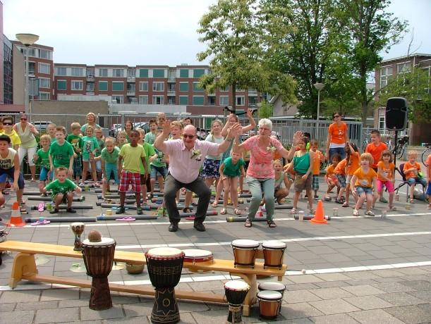 Schoolorkest op SBO de Boemerang
