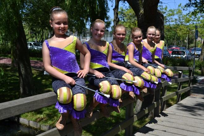 Meer dan geslaagd Maranto twirl concours