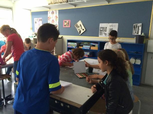 Naschoolse cultuureducatie bij De Hoeksteen