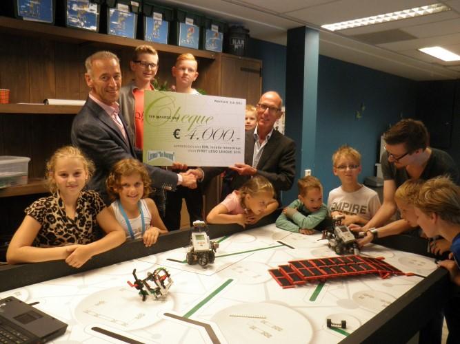 Bijdrage Loswal de Bonnen aan ISW voor Lego League 2015