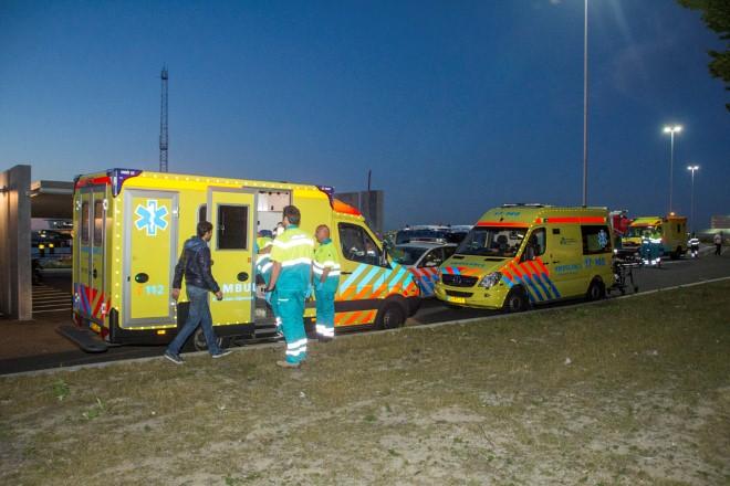 Ambulanceverhalen; Handen thuis!