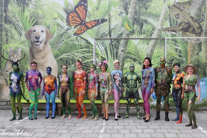 Body Art for Nature bij Avonturia!