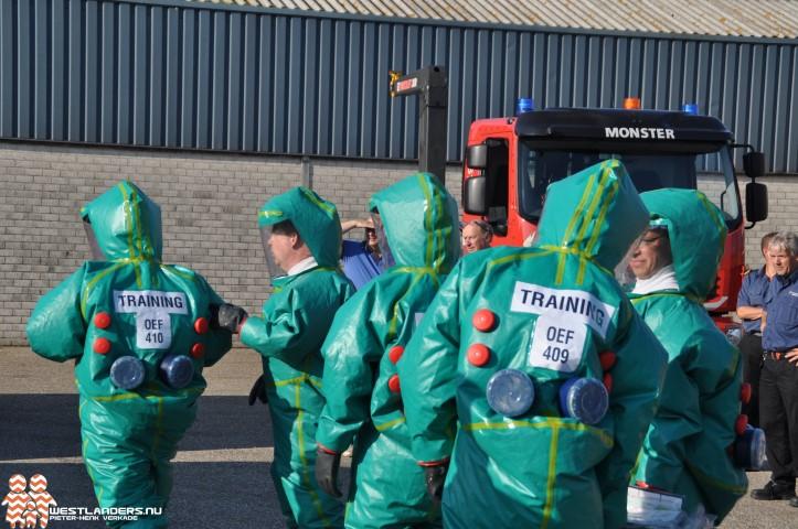 Grootschalige ontsmettingsoefening in 's-Gravenzande