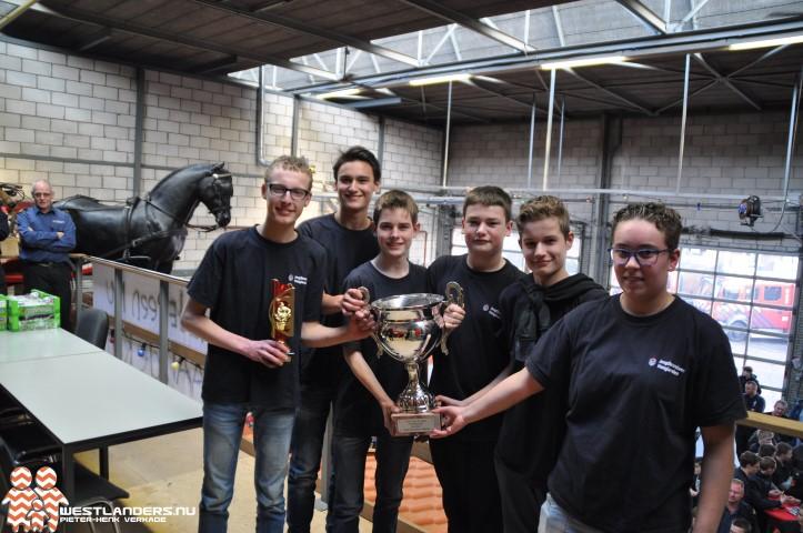 Pijnacker/Nootdorp winnaar jeugdbrandweerwedstrijd Naaldwijk