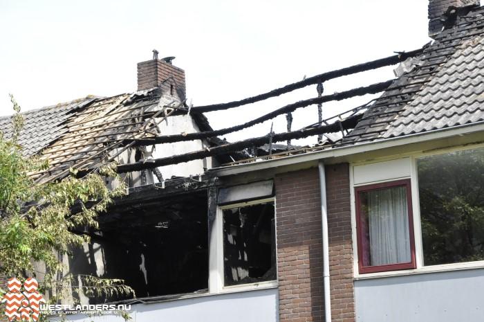 Veel schade na grote brand Lenteblok