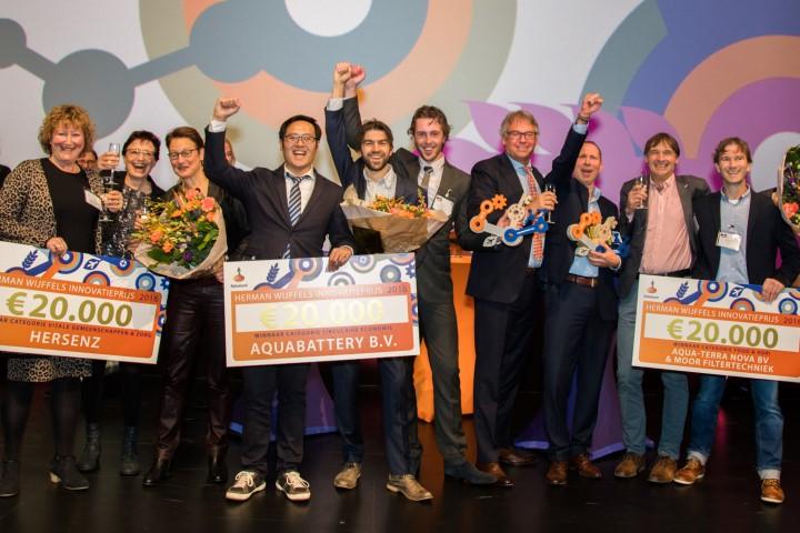 Westlandse bedrijven winnaar Herman Wijffels Innovatieprijs 2016
