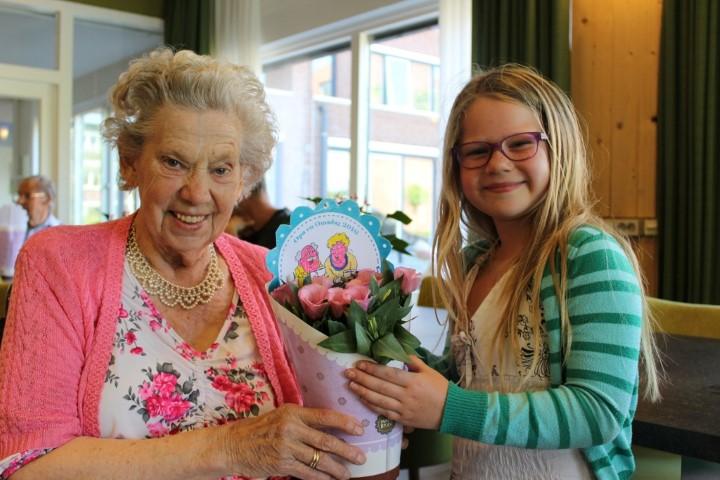 Kinderen vieren opa- en omadag in Westland!