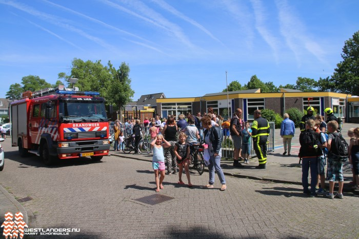 Basisschool ontruimd na gaslucht