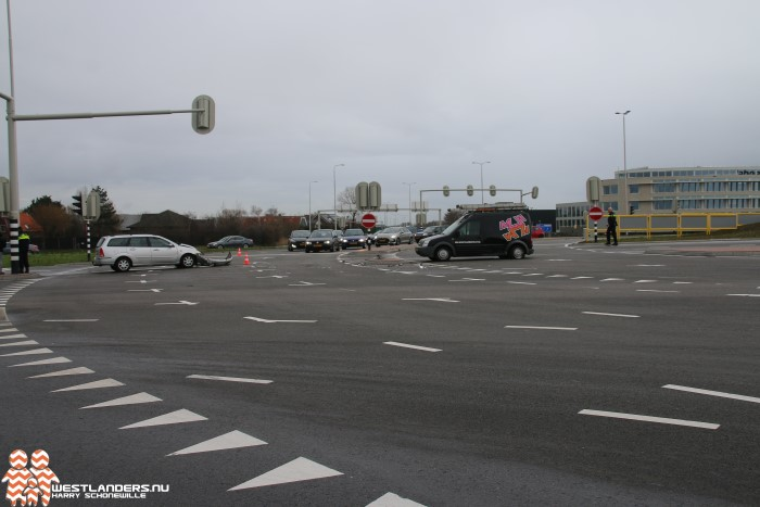 Ongeluk op het Westerleeplein