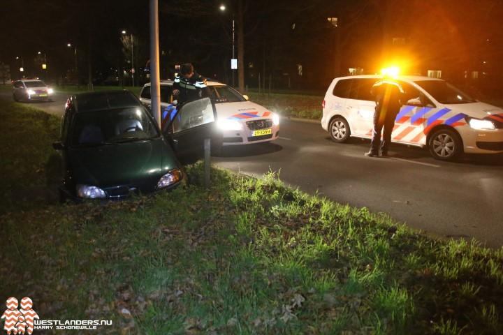Automobilist gewond bij ongeluk Lozerlaan