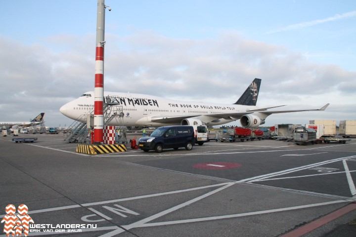 Ed Force One op Schiphol