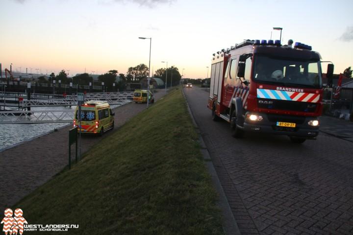 Jongen gered na val in de Berghaven