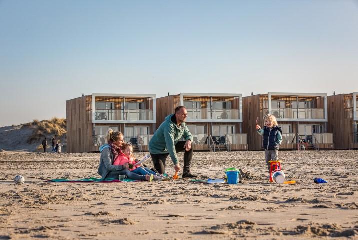 Hoekse beach villa 's krijgen nieuwe eigenaar