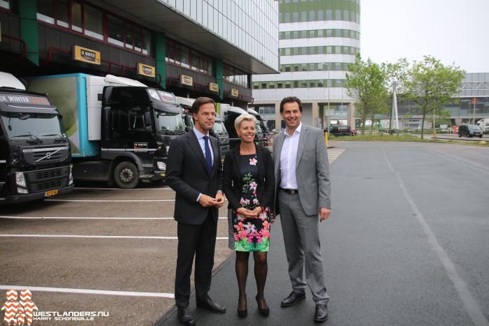 Minister President Rutte brengt werkbezoek in Honselersdijk