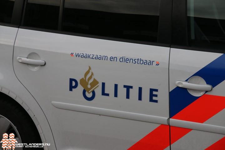 Inbreker gesnapt in Maasdijk