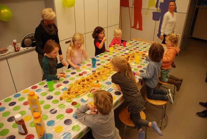 Geslaagd kinderfeestje met Fun Factory!