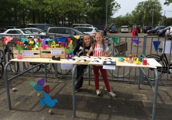 Kunstmarkt Godfried Bomansschool groot succes!