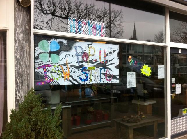 Scholieren openen tijdelijke pop-up store in Poeldijk
