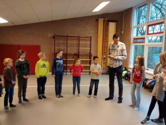 Weerbaarheidstraining op basisschool de Driekleur