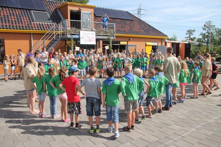 Scouting Rambonnetgroep Naaldwijk zwiept het nieuwe seizoen in