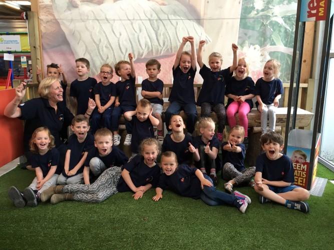 Kleuterfeest van de Godfried Bomansschool groot succes!